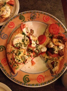 Margherita Pizza with Italian Sausage