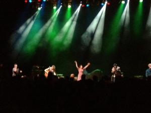 Skinny Lister. Guess who thinks she's the star of the show?