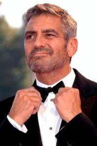 Love your beard, Mr. Clooney.