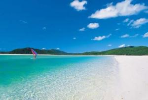 Whitehaven Beach, Australia. Been there, done that.