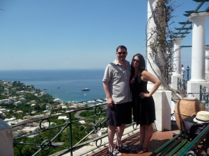 There is no place I've seen in my life more spectacular than Capri. It's science.