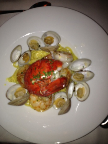 Shellfish Linguine
