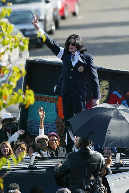 Michael Jackson Arraigned on Child Molestation Charges