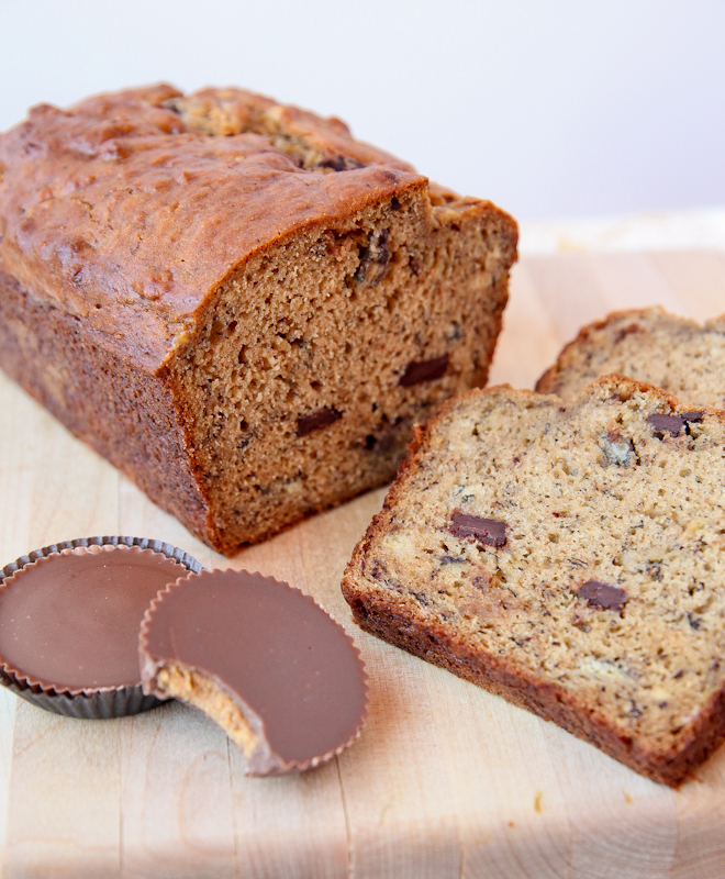 ... At Noon With PB Cup Banana Bread and Funny GIFs | The Daily Sampler