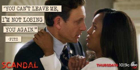 Tell me about it, Fitz. None of us want to go through that again.