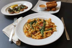 Oh look, my favorite sausage and campanelle pasta dish! via The Buffalo News