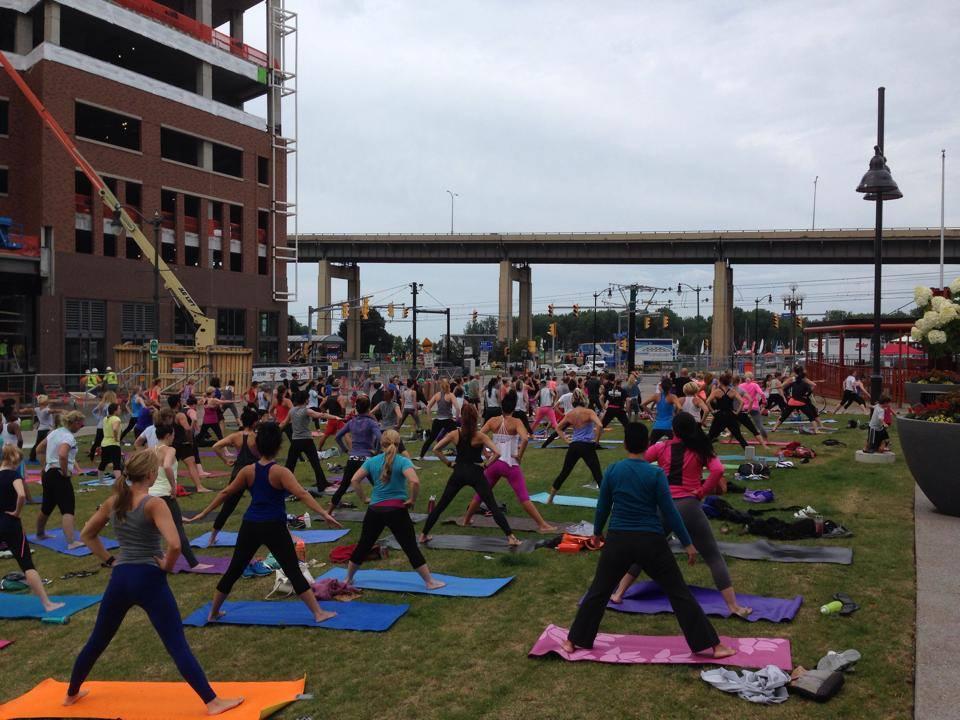 Calm amidst the chaos. Via Power Yoga Buffalo