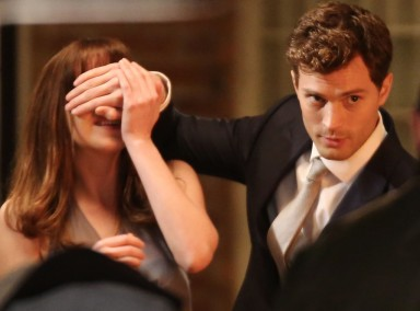 Don't look moms, Jamie Dornan is here to scandalize your daughters.